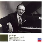 ブラームス:ピアノ・ソナタ第3番、他