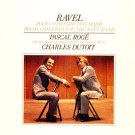 パスカル・ロジェ - ラヴェル:ピアノ協奏曲、左手のための協奏曲