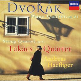 タカーチ弦楽四重奏団 - ドヴォルザーク:ピアノ五重奏曲、他