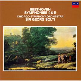 サー・ゲオルグ・ショルティ - ベートーヴェン:交響曲 第4番&第5番《運命》