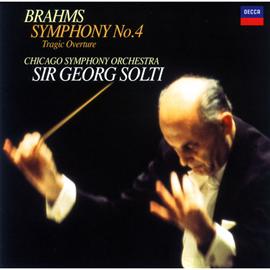 サー・ゲオルグ・ショルティ - ブラームス:交響曲 第4番、他
