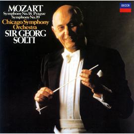サー・ゲオルグ・ショルティ - モーツァルト:交響曲第38番《プラハ》&39番