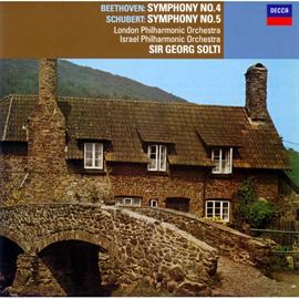 サー・ゲオルグ・ショルティ - ベートーヴェン:交響曲第4番/シューベルト:第5番