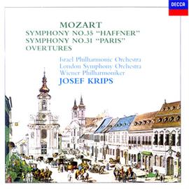 ヨーゼフ・クリップス - モーツァルト:交響曲《ハフナー》《パリ》、他