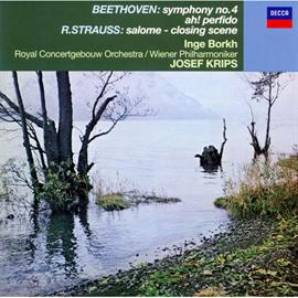 ヨーゼフ・クリップス - ベートーヴェン:交響曲第4番、他