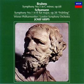 ヨーゼフ・クリップス - ブラームス&シューマン:交響曲第1番