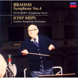 ヨーゼフ・クリップス - ブラームス:交響曲第4番、シューベルト:交響曲第6番
