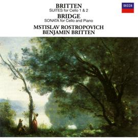 ムスティスラフ・ロストロポーヴィチ - ブリテン:無伴奏チェロ組曲集、他