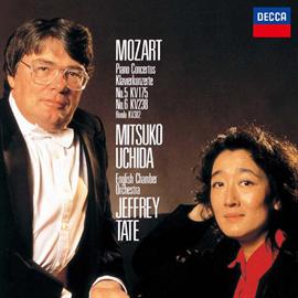 内田光子 - モーツァルト:ピアノ協奏曲第5番 第6番 他
