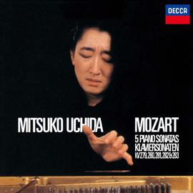 内田光子 - モーツァルト:ピアノ・ソナタ第1番-第5番