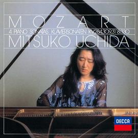 内田光子 - モーツァルト:ピアノ・ソナタ第6,7,9,10番
