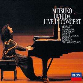 内田光子 - ライヴ・イン・コンサート 1991