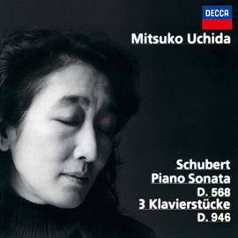 内田光子 - シューベルト:3つの小品、ピアノ・ソナタ第7番