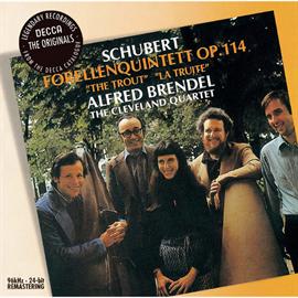 アルフレッド・ブレンデル - シューベルト:ピアノ五重奏曲《ます》、他