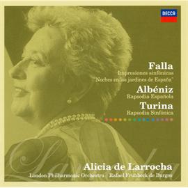 アリシア・デ・ラローチャ - ファリャ:スペインの庭の夜、他
