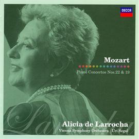 アリシア・デ・ラローチャ - モーツァルト:ピアノ協奏曲第22番・第19番
