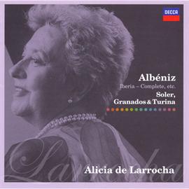アリシア・デ・ラローチャ - アルベニス:組曲《イベリア》全曲、他