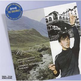 クラウディオ・アバド - メンデルスゾーン:交響曲第3番《スコットランド》&第4番《イタリア》