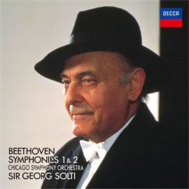 サー・ゲオルグ・ショルティ - ベートーヴェン:交響曲第1番・第2番