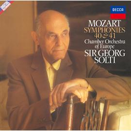 サー・ゲオルク・ショルティ - モーツァルト:交響曲第40番&第41番《ジュピター》