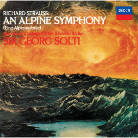 サー・ゲオルク・ショルティ - R.シュトラウス:アルプス交響曲/シェーンベルク:管弦楽のための変奏曲