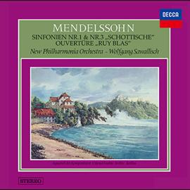 ヴォルフガング・サヴァリッシュ - メンデルスゾーン:交響曲第1番・第3番《スコットランド》、他