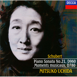 内田光子 - シューベルト:ピアノ・ソナタ第21番/楽興の時