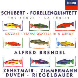 アルフレッド・ブレンデル - シューベルト:ピアノ五重奏曲《ます》/モーァルト:ピアノ四重奏曲第1番