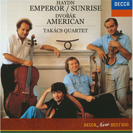 タカーチ弦楽四重奏団 - ハイドン:《皇帝》《日の出》/ドヴォルザーク:《アメリカ》