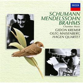 ギドン・クレーメル - シューマン:ヴァイオリン・ソナタ、ブラームス:ピアノ五重奏曲 他
