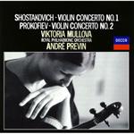 ヴィクトリア・ムローヴァ - ショスタコーヴィチ&プロコフィエフ:ヴァイオリン協奏曲集