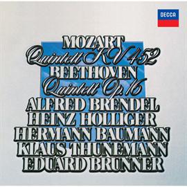 アルフレッド・ブレンデル - ベートーヴェン&モーツァルト:ピアノと管楽器のための五重奏曲