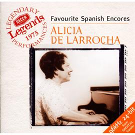 アリシア・デ・ラローチャ - 入り江のざわめき~スペイン・ピアノ名曲集