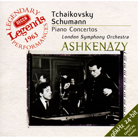 ヴラディーミル・アシュケナージ - チァイコフスキー&シューマン:ピアノ協奏曲