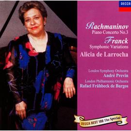 アリシア・デ・ラローチャ - ラフマニノフ:ピアノ協奏曲第3番、他