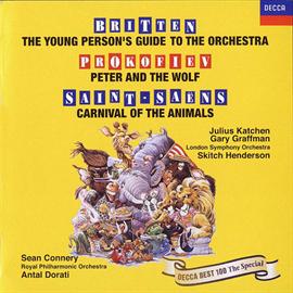 アンタル・ドラティ - ブリテン:青少年のための管弦楽入門、他