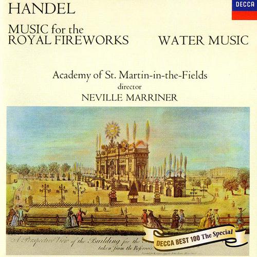 ヘンデル:王宮の花火の音楽、水...