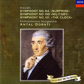 アンタル・ドラティ - ハイドン:交響曲第94番、第100番、第101番