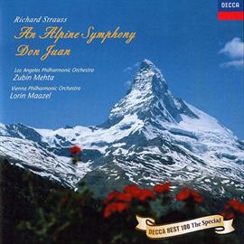 ズービン・メータ - R.シュトラウス:アルプス交響曲、ドン・ファン