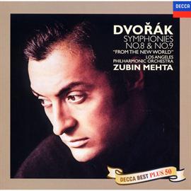 ズービン・メータ - ドヴォルザーク:交響曲第8&9番