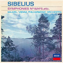 ロリン・マゼール - シベリウス:交響曲第1番・第5番、《カレリア》組曲