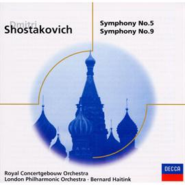ベルナルト・ハイティンク - ショスタコーヴィチ:交響曲第5&9番