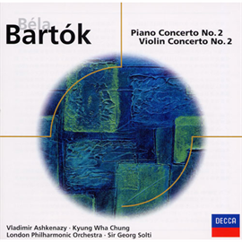 ヴラディーミル・アシュケナージ - バルトーク:ピアノ協奏曲第2番、ヴァイオリン協奏曲第2番