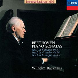 ヴィルヘルム・バックハウス - ベートーヴェン:ピアノ・ソナタ 第1・2・3番