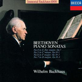 ヴィルヘルム・バックハウス - ベートーヴェン:ピアノ・ソナタ 第4・5・6・7番