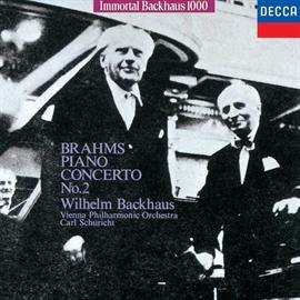 ヴィルヘルム・バックハウス - ブラームス:ピアノ協奏曲 第2番