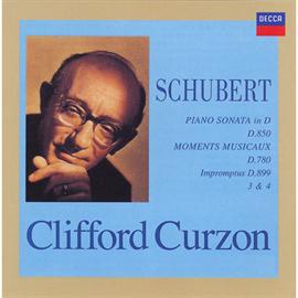 サー・クリフォード・カーゾン - シューベルト:ピアノ・ソナタ第17番、楽興の時、他