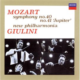 カルロ・マリア・ジュリーニ - モーツァルト:交響曲第40&41番《ジュピター》