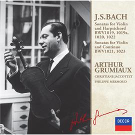 アルテュール・グリュミオー - J.S.バッハ:ヴァイオリン・ソナタ集VOL.2