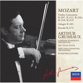 アルテュール・グリュミオー - モーツァルト:ヴァイオリン協奏曲集